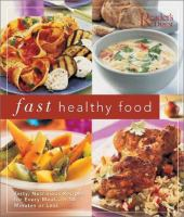 Fast Healthy Food