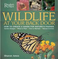 Wildlife at your Back Door