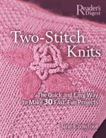 Two-stitch Knits