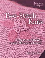 Two-stitch Knits