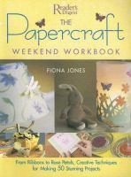 The Papercraft Weekend Workbook
