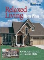 Relaxed Living Home Plans