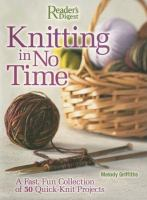 Knitting In No Time