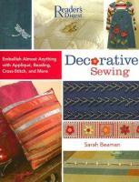 Decorative Sewing