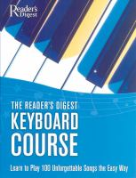 The Reader's Digest Keyboard Course