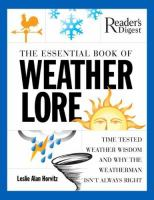 The Essential Book of Weather Lore