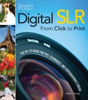 Digital SLR From Click to Print