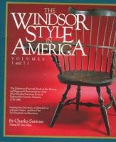 The Windsor Style in America