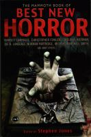 The Mammoth Book of Best New Horror, Volume 22