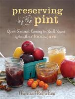 Preserving by the Pint