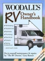 Woodall's RV Owner's Handbook