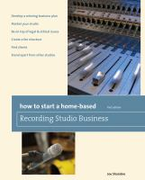 How to Start A Home-based Recording Studio Business