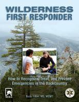 Wilderness First Responder
