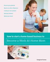 How to Start A Home-based Business to Become A Work-at-home Mom