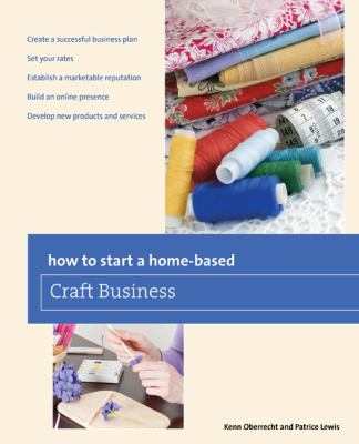 How to start a home-based Craft Business book cover