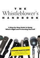 The Whistleblower's Handbook