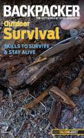 Backpacker Outdoor Survival