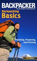 Backpacker Magazine's Backpacking Basics