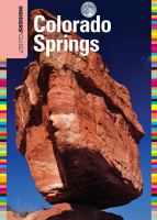 Insiders' Guide to Colorado Springs