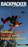 Backpacker Outdoor Survival Stories and the Lessons Learned