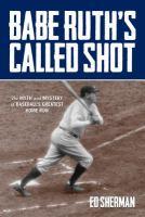 Babe Ruth's Called Shot