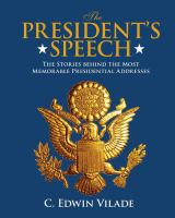 The President's Speech