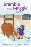 Bramble and Maggie : snow day