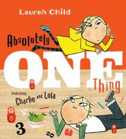 Absolutely One Thing book cover