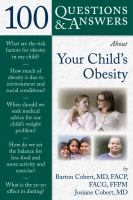 100 Questions & Answers About your Child's Obesity