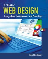 Artistic Web Design Using Adobe Dreamweaver and Photoshop