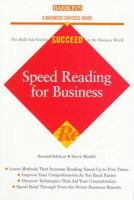 Speed Reading for Business
