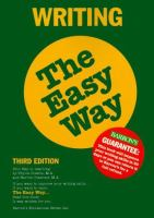Writing The Easy Way