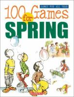 100 Games for Spring