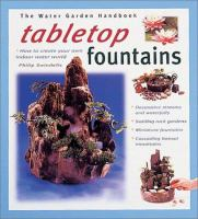 Tabletop Fountains