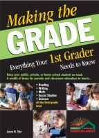 Everything your 1st Grader Needs to Know