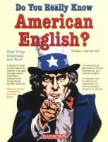 Do You Really Know American English