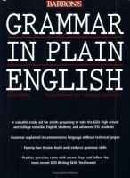 Image: Grammar in Plain English