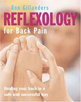 Reflexology for Back Pain