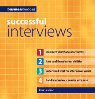 Sucessful Interviews