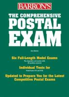 Barron's Comprehensive Postal Exam, 473/473-C
