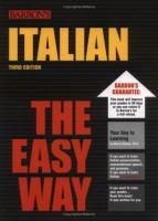 Italian the Easy Way