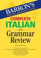 Complete Italian Grammar Review