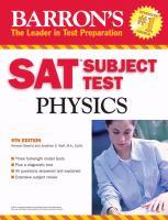 Barron's SAT Subject Test, Physics