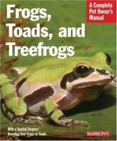 Frogs, Toads, And Treefrogs
