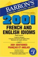 2001 French and English Idioms