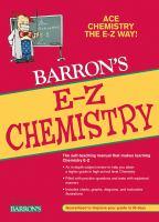 Barron's E-Z Chemistry