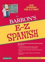Barron's E-Z Spanish