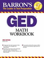Barron's GED Math Workbook