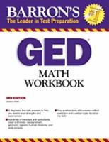 Barron's GED Math Workbook