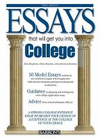 Essays That Will Get You Into College